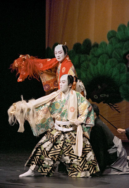 Colourful Kabuki Theatre Has Its Roots In The Edo Period Teahouse Theatres Of The Notorious Red Light Districts Sakari Viika