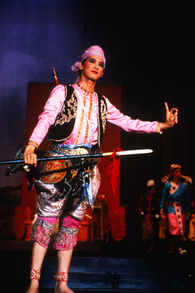 A Male Lead From A Lakhon Play In Which Local Flavour Is Added By Means Of Exotic Costumes And Stage Realism Jukka O Miettinen