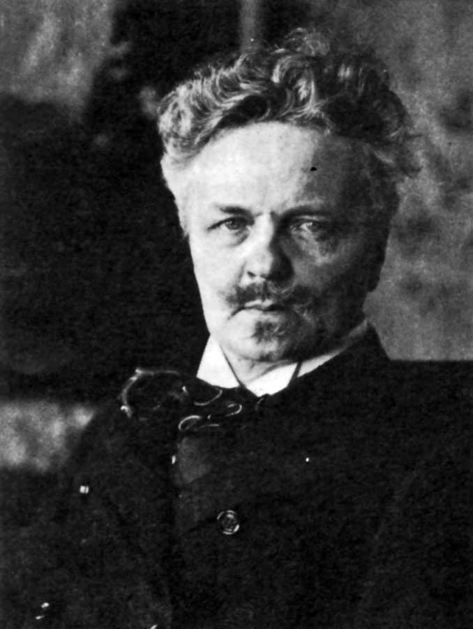 August Strindberg [Ronald Harwood: All the World's a stage. 1984]