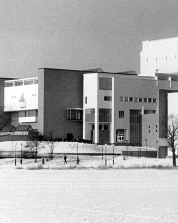 Uusi Suomen Kansallisoopperan talo [Mauritz Hellström, Suomen Kansallisoopperan arkisto]