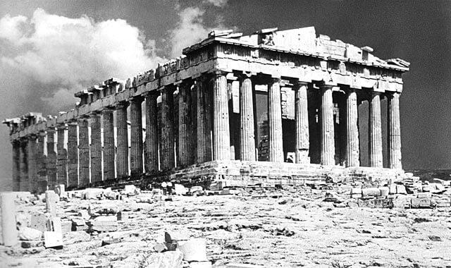 Parthenonin doorilainen temppeli, 447–438 eaa. [Akropolis, Ateena]
