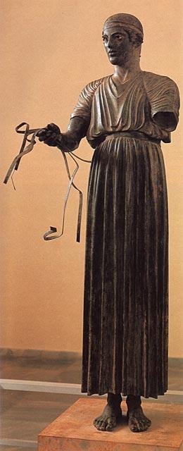 """Delfoin vaununajaja"", n. 470 eaa. [Arkeologinen museo, Dalfoi]"