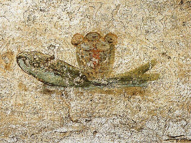 Kala [Pyhän Calliston katakombi, Rooma]